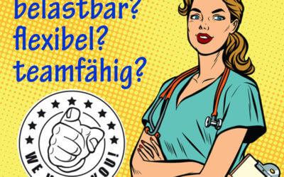 Sind Sie eine diplomierte Pflegefachperson mit diesen Eigenschaften?