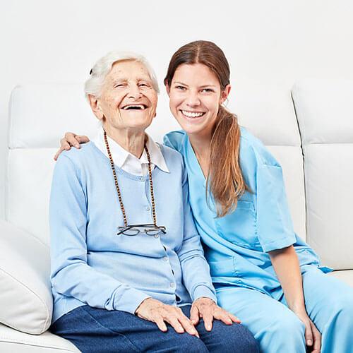 Erfahrung im Umgang mit dementen Menschen?